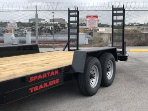Equipment trailer, bobcat trailer, excavator, trailer , car hauler, utility trailer, mini excavator for Sale in Hialeah, FL