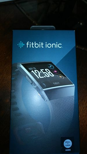 Fitbit ionic for Sale in Detroit, MI