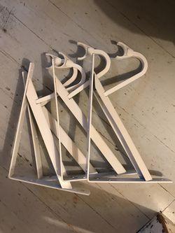 4 everbuilt metal shelf brackets heavy duty for Sale in Issaquah,  WA
