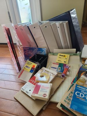 SUPPLIES - OFFICE OR SCHOOL. Everything 4 15.00. for Sale in Lawrenceville, GA