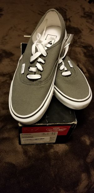 Vans Classsic Authentic Pewter Grey Black VN-0JRAPBQ for Sale in Puyallup, WA