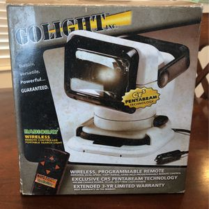 Golight Spotlight Search Light Remote Controlled for Sale in Fort Lauderdale, FL