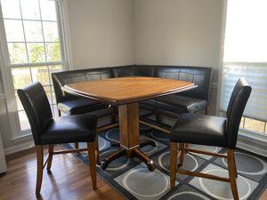 Ashley Urbandale Table - 2 tone wood for Sale in Alexandria, VA