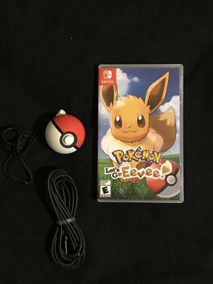 Nintendo Switch Game Pokémon Let's Go Eevee Pokeball Plus for Sale in Phoenix, AZ