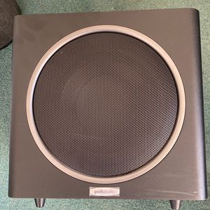 Polk Audio PSW110 10-Inch Powered Subwoofer (Single, Black) TESTED WORKS for Sale in Falls Church, VA