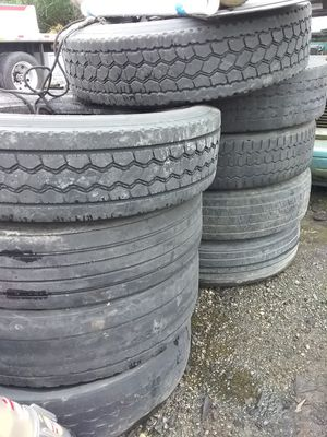 Used semi tires for trailer for Sale in Beaverton, OR