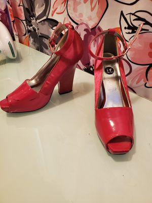 Hot Pink Heels with Ankle Strap for Sale in San Francisco, CA