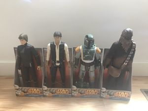 Brand new Star Wars action figures for Sale in Stratford, CT