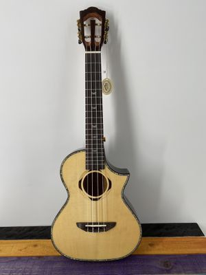 Smiger Ukulele K34S-27 Black Tenor Cutaway Exotic Woods High Quality Killer Price Free Deluxe Gigbag for Sale in Winchester, CA