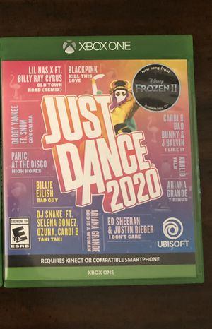 JUST DANCE 2020 XBOX ONE *LIKE NEW for Sale in Salt Lake City, UT