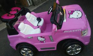 Hello Kitty SUV 12-Volt Battery-Powered Ride-On for Sale in Tempe, AZ