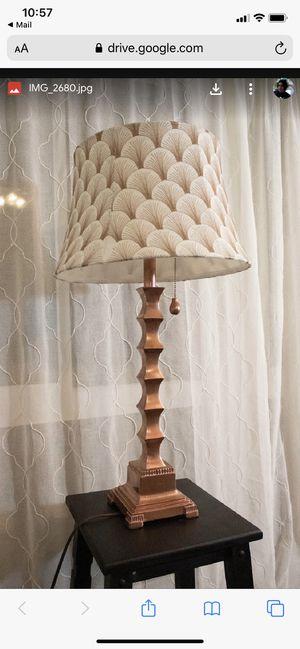 Custom Lamp ($35) for Sale in Pleasant Hill, CA