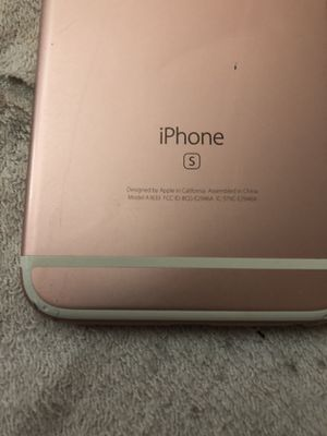 Rose gold iPhone 6S 32gb (AT&T) for Sale in Lynnwood, WA