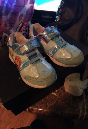 Elsa frozen shoes for Sale in Chesapeake, VA