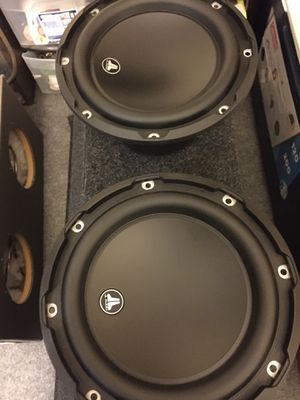 "2"" 8"" JL AUDIO W3V3-4 BRAND NEW SPEAKERS for Sale in Daly City, CA"