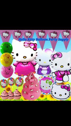 HELLO KITTY BIRTHDAY BALLOONS PARTY SUPPLIES for Sale in Hampton, VA