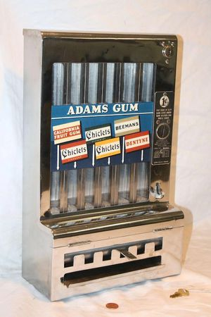 Antique mills coin op gum machine for Sale in Denver, CO