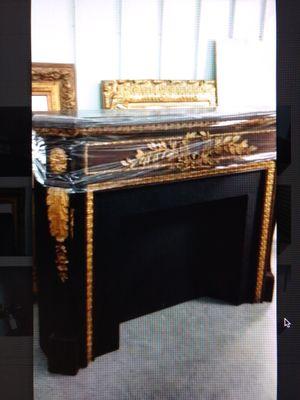Antique Gilt wood Mantel for Sale in West Palm Beach, FL