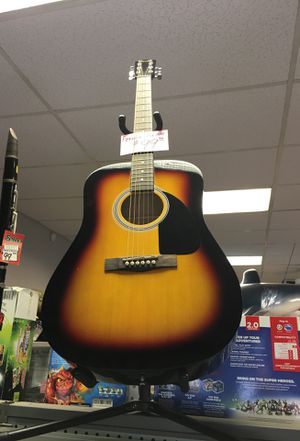 *fender acoustic guitar fa-100 for Sale in Cheshire, CT