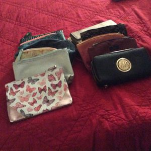 3 wallets 9 small bags for Sale in Chula Vista, CA