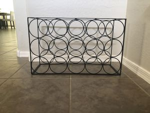 15 bottle wine rack wine bottle storage for Sale in Gilbert, AZ