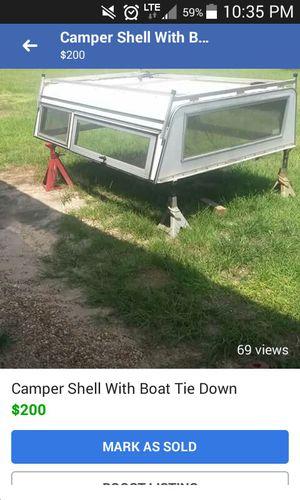 vintage camper shell for Sale in DeFuniak Springs, FL