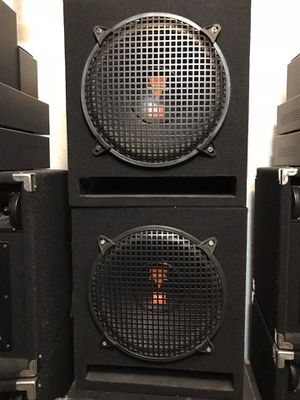 "TWO JBL SUBWOOFERS (2–12""-2 ohms-280w)WITH PORTED BOXES for Sale in Miami, FL"