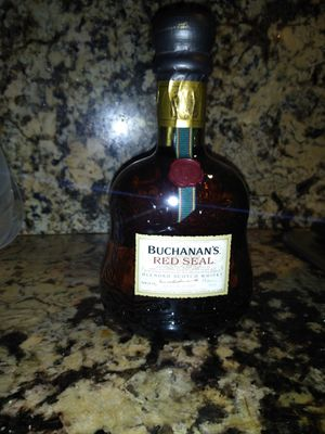 Buchanan's red seal for Sale in Anaheim, CA
