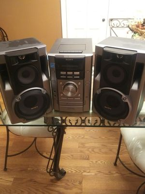 Sony HCD-EC70 Stereo System Disc, Tape, Am/Fm for Sale in Monroe Township, NJ