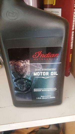 Motorcycle Indian motor oil for Sale in El Monte, CA