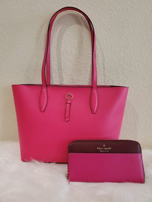PINK KATE SPADE PURSE AND WALLET SET for Sale in Huntington Park, CA