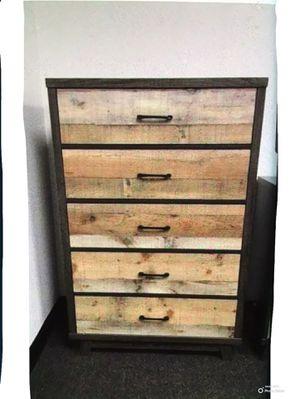 New!! Dresser, chest, wardrobe, storage unit, organizer, bedroom furniture , solid wood , 5 drawers for Sale in Phoenix, AZ