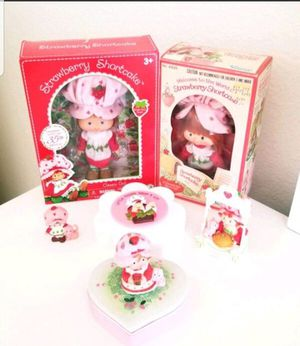 Strawberry Shortcake Trinket Box Lot for Sale in Fontana, CA