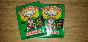1986 Garbage Pail Kids Series 3 sealed packs for Sale in Chicago, IL