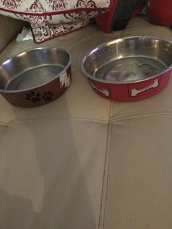2 dog bowls for Sale in San Angelo,  TX