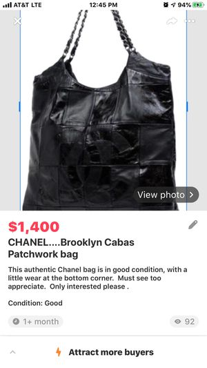 CHANEL.....Brooklyn Cabas Patchwork bag for Sale in Las Vegas, NV