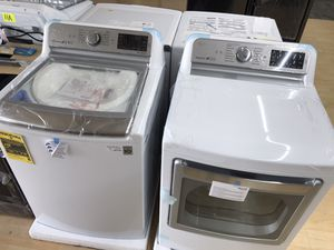 Brand new top load washer and dryer set for Sale in Houston, TX