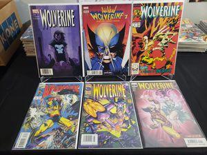 Wolverine Comic Lot for Sale in Marietta, GA