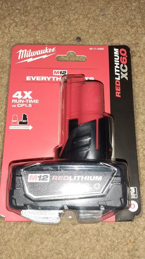 Milwaukee Redlithium 4X Run Time XC6.0 Battery for Sale in Baltimore, MD