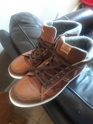 Aldos Men's Brown Leather Boots/Shoes for Sale in Tampa, FL