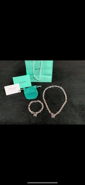 Tiffany & Co. Necklace and bracelet set for Sale in Brandon, FL
