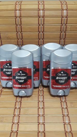 SIX brand-new Old Spice Swagger scent antiperspirant deodorants 2.6 Oz each for Sale in Oakland, CA