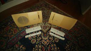 BOSE System 100 Speakers (cream) for Sale in Stevensville, MD