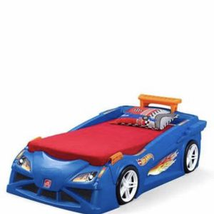 Hot wheels Car Bed, Mattress Not Included for Sale in Tacoma, WA