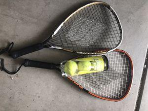 Ektelon Tennis Rackets w/ balls for Sale in Bakersfield, CA