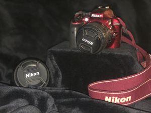 Nikon D3300 with Nikkor 70-300mm Zoom lense and Nikkor 18-55mm lense for Sale in Garden Grove, CA