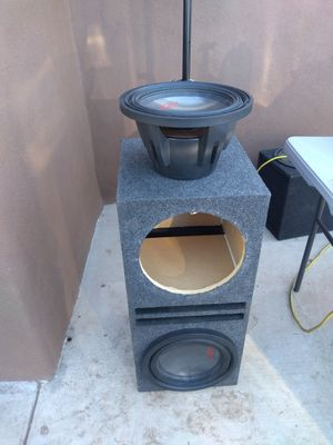 Alpine type r 12 inch subs for Sale in Glendale, AZ