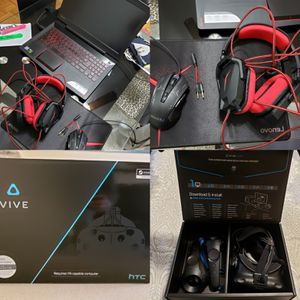 Lenovo Legion Y520 + HTC vive virtual reality set for Sale in Edgewater, NJ