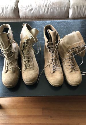Belleville 790V Goretex Size 10 Water Proof Combat boots, two pairs for Sale in Oregon City, OR