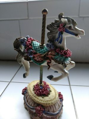 Melodies Country Fair Collection Carousel Horse for Sale in Santa Fe Springs, CA